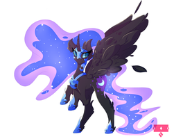 Nightmare Moon by iceybae