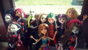 Monster High Custom Group Shot by Twig321