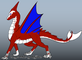 Organic Dragon: Whitefang by TFP-Steeljaw