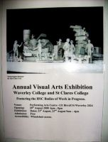 Art Exhibition Poster 2008 by ARTmonkey90