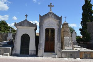 Old graves of cemetery of Provence by A1Z2E3R