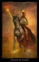 Knight of Wands by ThelemaDreamsArt