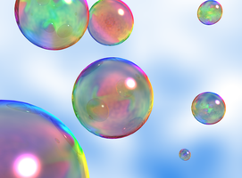 Sky Bubbles by DimensionSifter