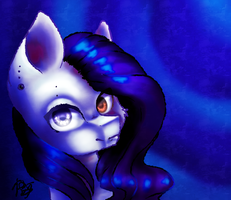 Art trade with Cyan Elwi by PrettyShineGP