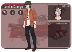 [LD] Damian Kamryn by Wolves1207