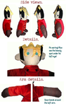 Simple Vash details by EdenEvergreen