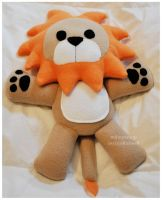 Gift - Sweet Lion Leopold by mihoyonagi