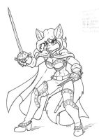 Fox Swashbuckler by DaTroll