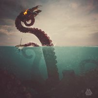 Kraken by Kevinchichetti