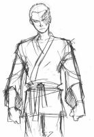 Avatar sketch - Zuko by eisu