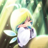 Little fairy by ocarina-CD