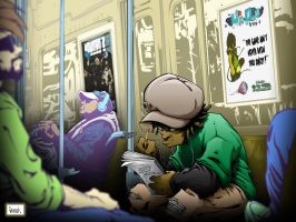 amir subway color by pnutink
