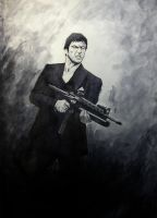Tony Montana by FASSLAYER
