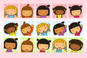 Cute Pigtails Avatars by jazgirl