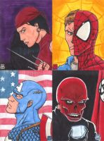 Marvelous Sketch Cards by WillRipamonti