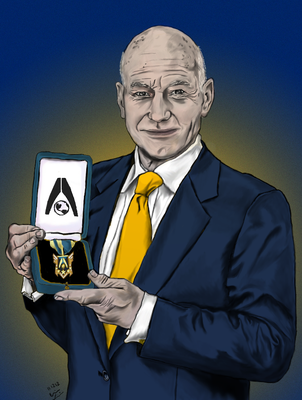 PM Gregory Tico played by Patrick Stewart by readywreadywit