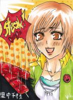 Chie in Steakparadise by Saga-sama