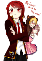 My Scarlie can't be this cute! by Raeyxia