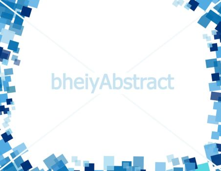 blue Abstract certificate border by bheiy09