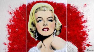 Marilyn Monroe by MariArt91