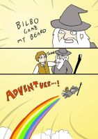ADVENTURE lotr parody by rain-and-sunshine