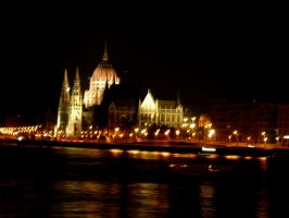 Parliament Budapest by macdieter