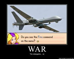 War, the videogame by ninjatoespapercraft