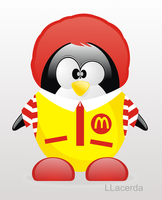 Ronald McDonald's Penguin by LLacerda