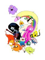adventure time by lanbridge