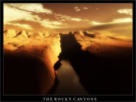 The Rocky Canyons by tul