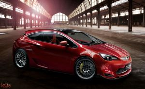 Opel Astra GTC Concept by SrCky