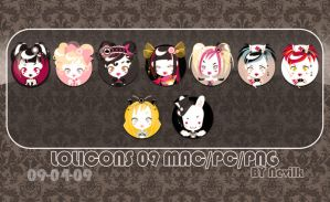 Lolita icons by Nevilk
