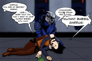 Mutant Babies, Garrus by artofdawn