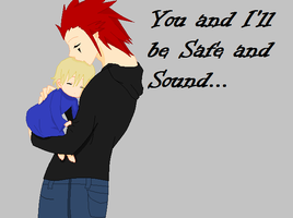 Axel and Ember: Safe and Sound by Smirkaotic
