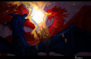 The Dragon`s Battle by VMarkees