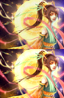 The light of the Dragon 2 versions by Weiyua