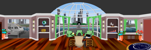 TNG era UFP Presidential Office by S0LARBABY