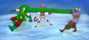 Fighting Tournament Semifinals by Emmygir