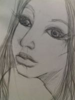 face siren pencil by letychan81