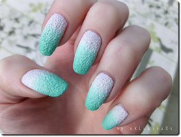 Mint Textured Gradient by xXLukiraXx
