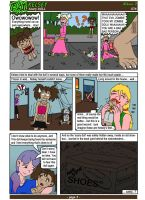 Kelsey - Scary DOLL (page 3 - conclusion) by illionore