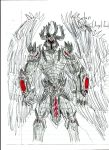 Armored Satan by loverofcarnage