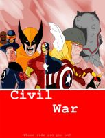 Civil War by marvelnerd87