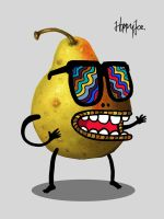 Mr Pear by HoppyJoe