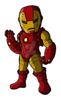 Chibi Evil Iron Man by GuyverC