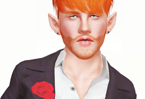 The sims 3 Dario by brenokisch