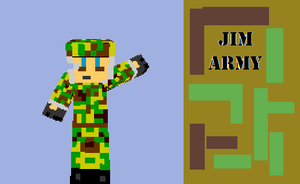 Jim the army man by 12345Death