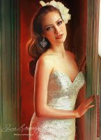 Beautiful In White 13 by Amro0