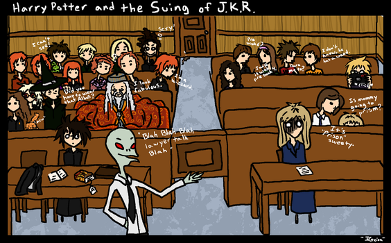 HP and the Suing of JKR by ZAHMB