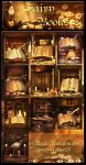 Fairy Books 2 backgrounds by moonchild-ljilja